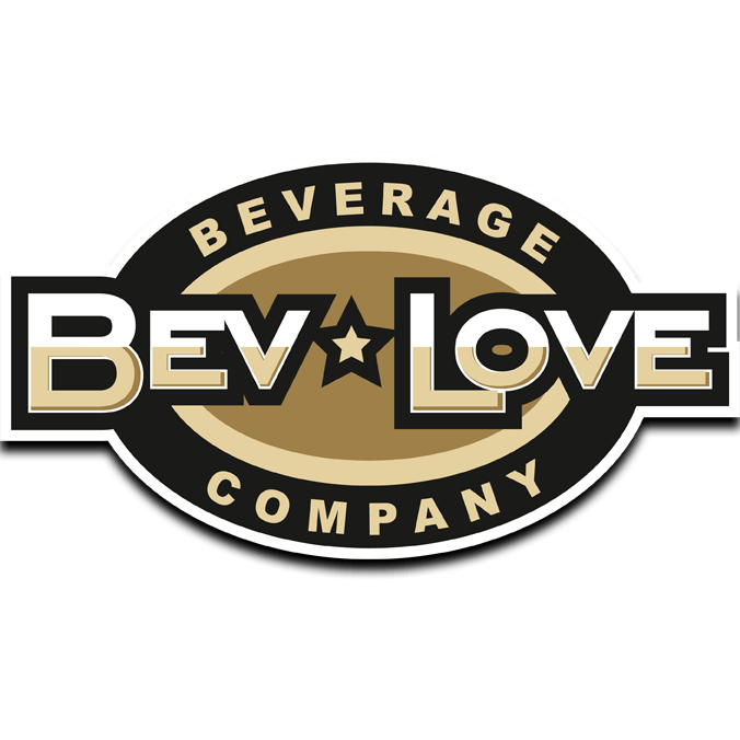BevLove logo drop shadow square