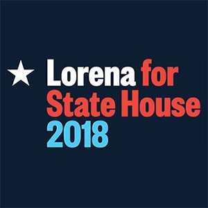 lorena for state house 2018 logo