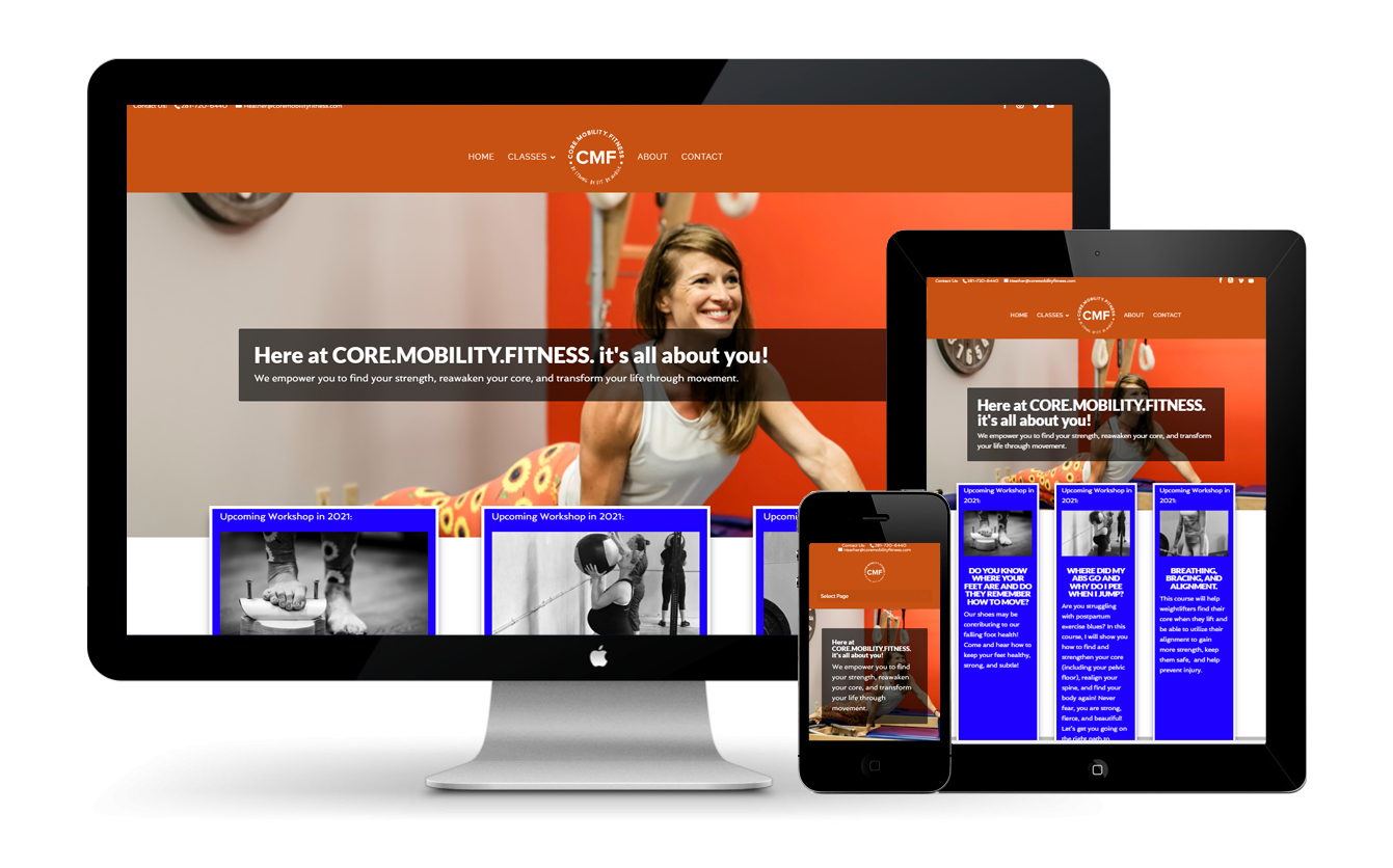 The Core Mobility Fitness Website