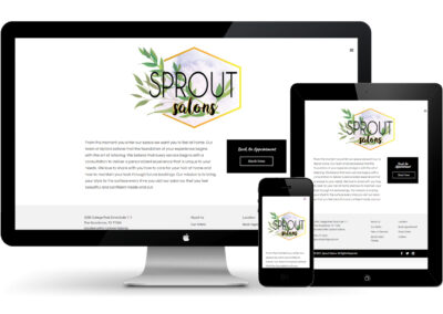 Sprout Salons – Website Revamp!