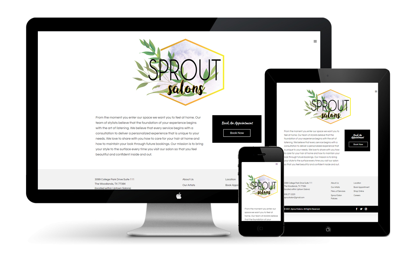 Sprout Salons - Client Revamp